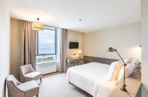 Chambres Balcon - Hôtel écologique Brigognan Plages